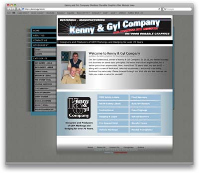 Kenny & Gyl Web site